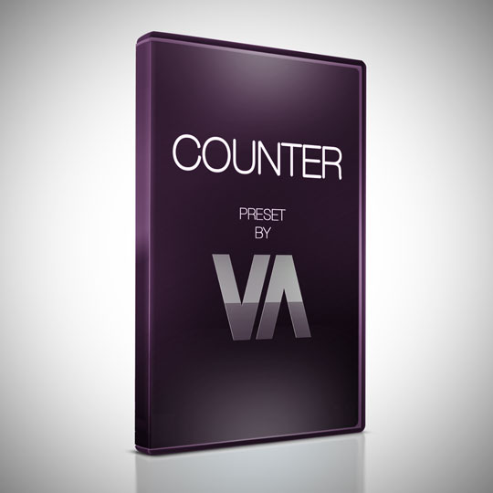Counter Preset After Effects