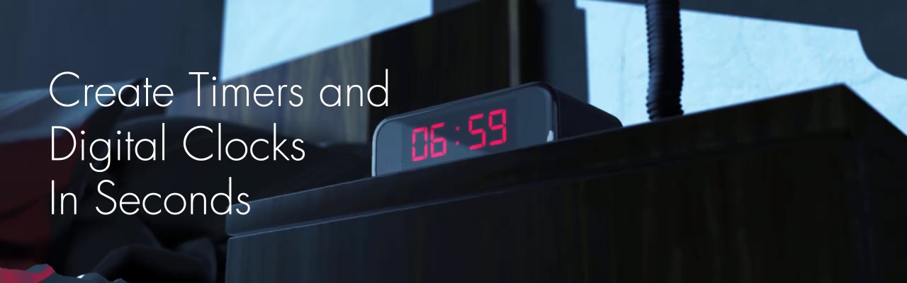 Digital Clock Timer After Effects
