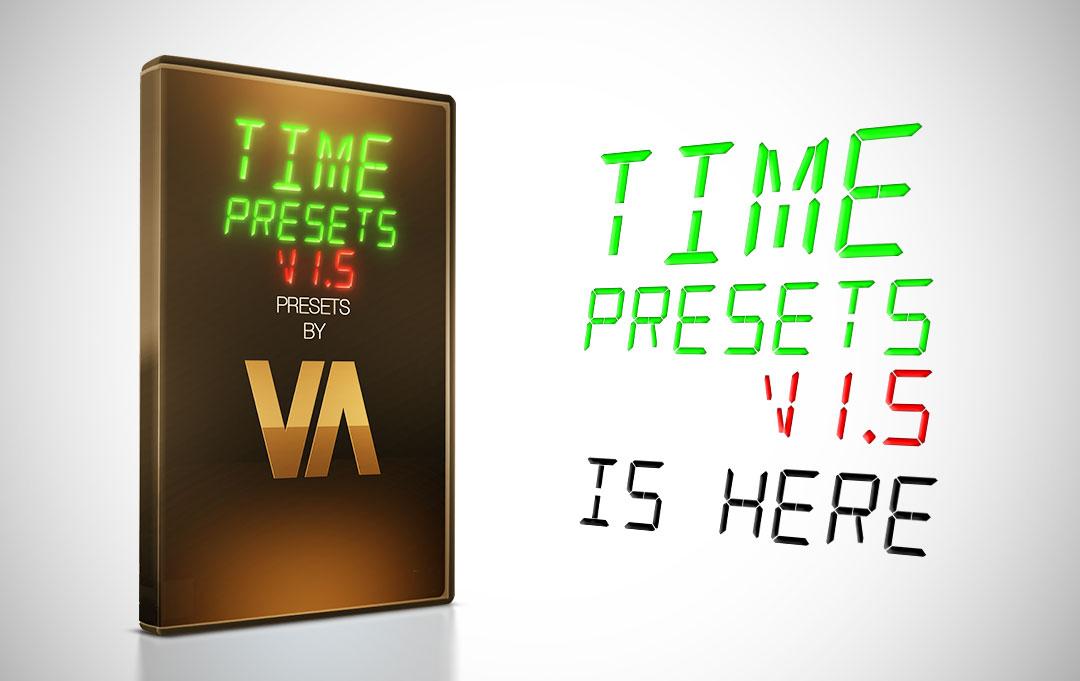 New Upgrade – Time Presets v1.5