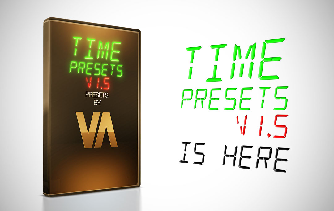 New Upgrade – Time Presets v1.5