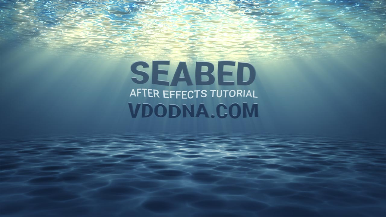 New Tutorial! Seabed Under-Water!