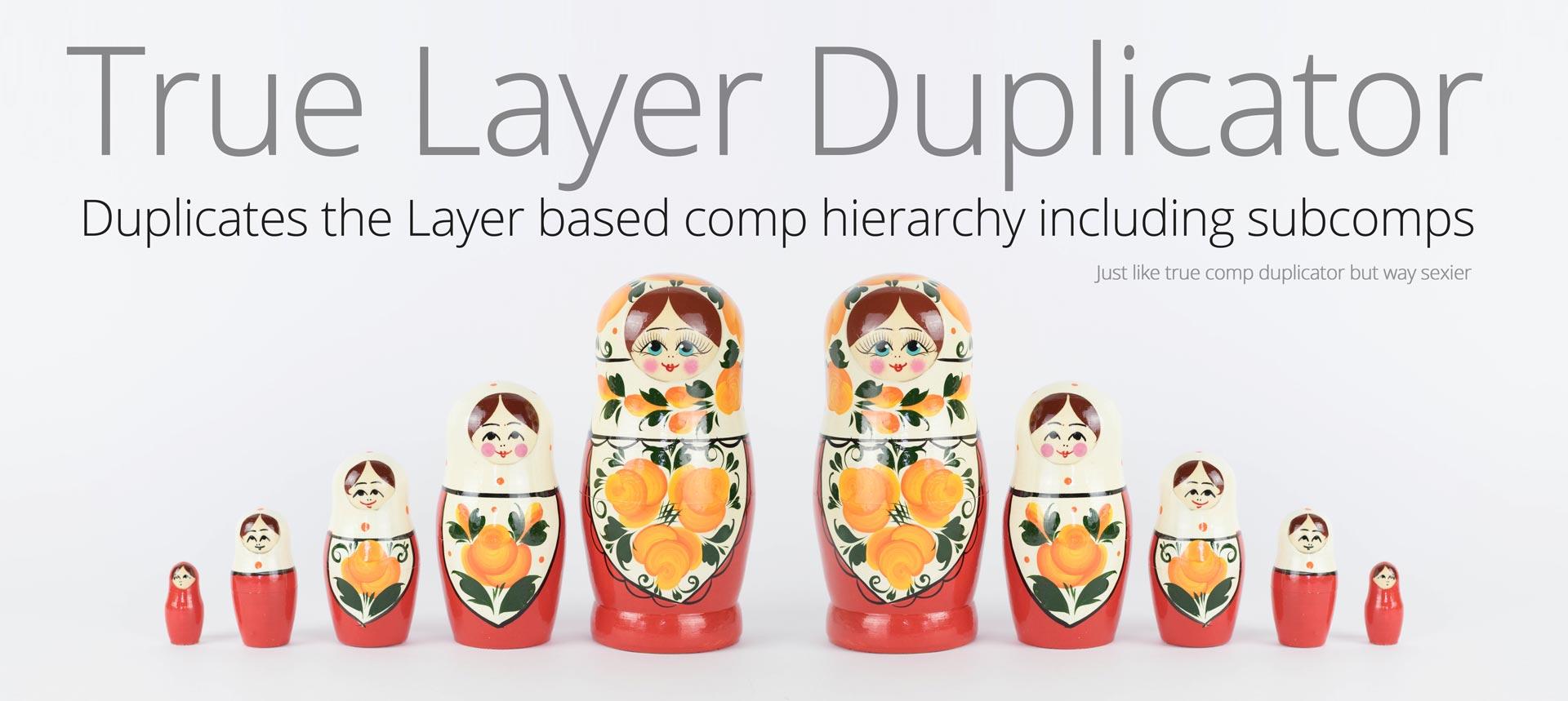 True Layer Duplicator script for After Effects   VDODNA