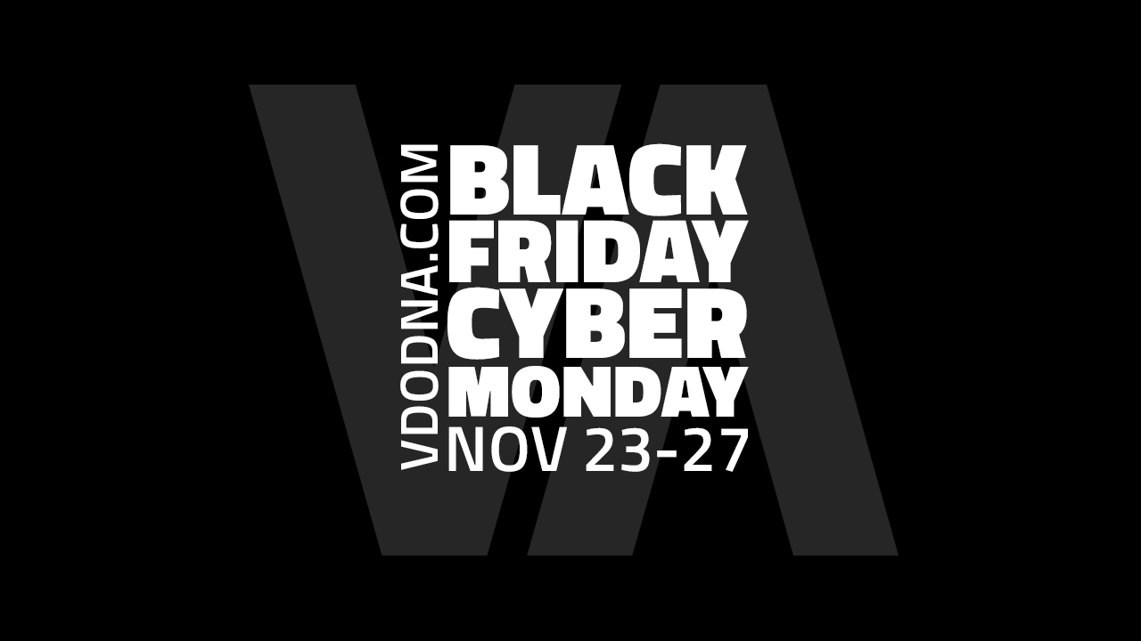 Black Friday to Cyber Monday 25%OFF Sale!